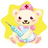 Nurse bear plushie