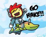 Go hake pewdiepie fanart by rinzler chan-d5q6x9i