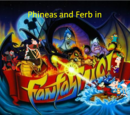 Phineas and Ferb in Fantasmic!