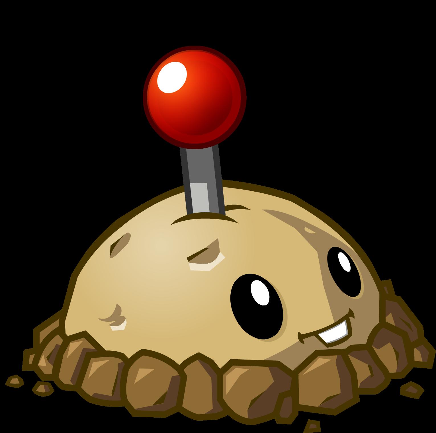 Bild  Potato Mine HDpng  Pflanzen gegen Zombies Wiki  FANDOM