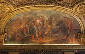 800px-Château de Versailles, salon de Diane, Jason et les Argonautes débarquant en Colchide, Charles de La Fosse