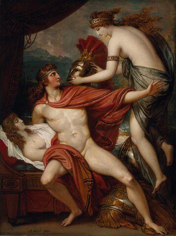 File:Benjamin West - Thetis bringing the Armor to Achilles.jpg