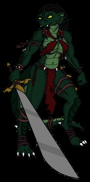 Dragonborn River Woman