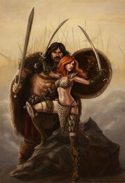 Barbarian couple