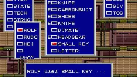 Mega Drive Longplay 132 Phantasy Star II (Part 1 of 8)
