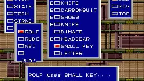 Walkthrough for Phantasy Star II