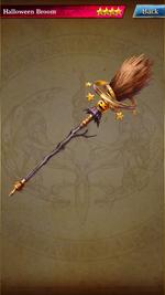 Haloween Broom 359