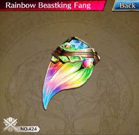 Rainbow Beastking Fang