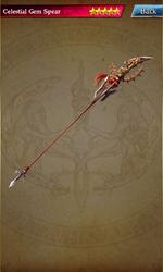 062 Celestial Gem Spear