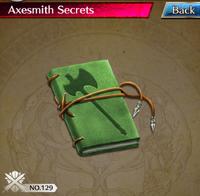Axesmith Secrets