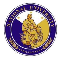 National University (Philippines) Logo