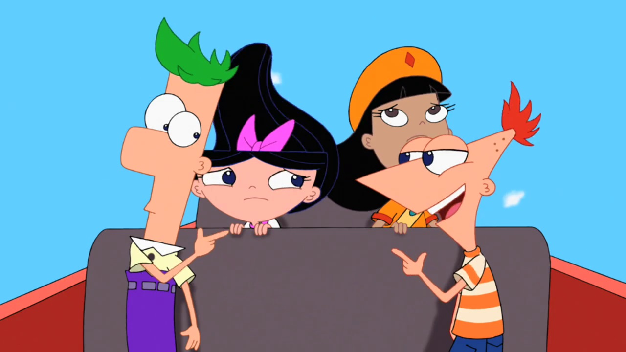 Phineas and ferb rule 34