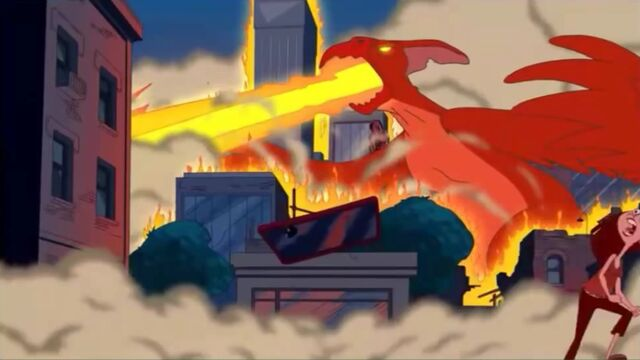 File:Giant, extinct dinosaur-like monsters laying waste to the city.jpg