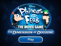 Phineas and Ferb The Movie Game The Dimension of Doooom!