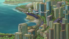 Live and Let Drive title card