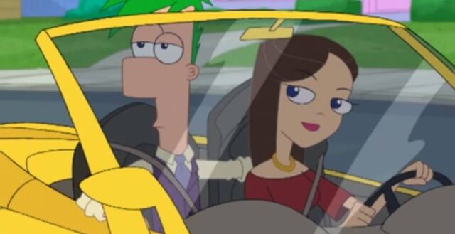 """File:Ferb and Vanessa as a couple in """"Act Your Age"""".jpg"""