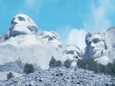 File:Pre-construction Mount Rushmore SD.jpg