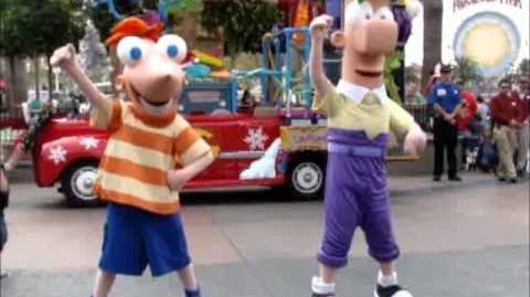 Phineas And Ferb Rock And Rollin Holiday Dance Party