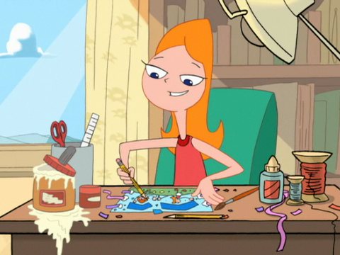 Candace making a birthday card for mom - cropped.png