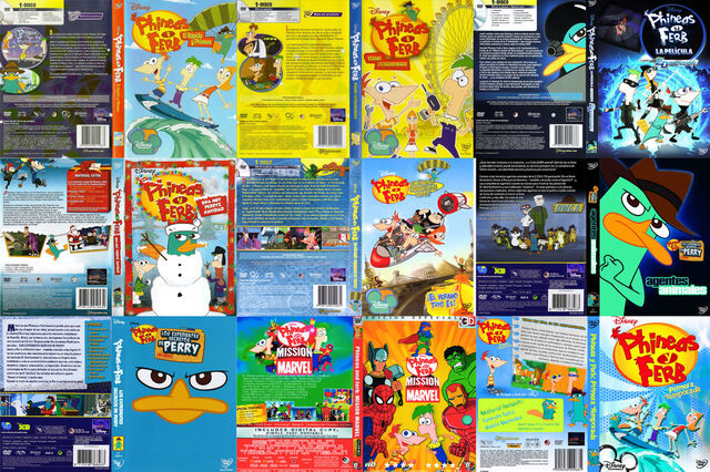 File:Phineas and Ferb dvd colection.jpg
