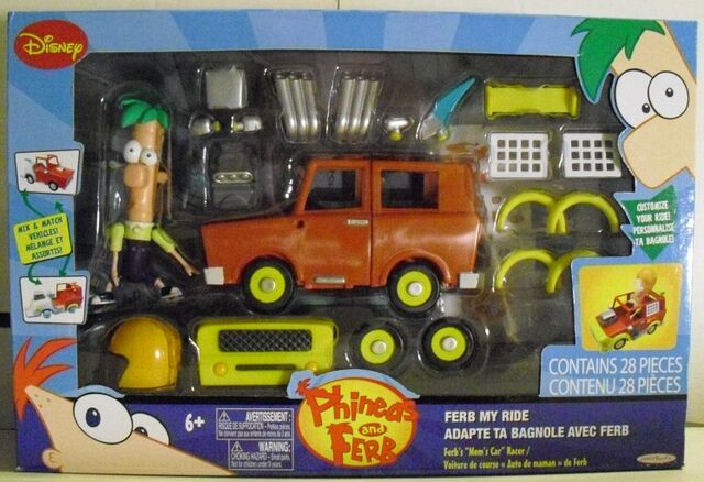 File:Ferb My Ride - Mom's Car Racer front.jpg