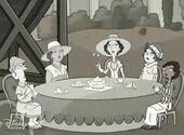 Mom's tea party