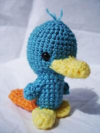 Perry the Platypus Plushie, by VampireMistressKayla