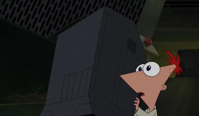 File:Phineas behind a container.JPG