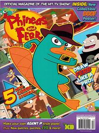 Phineas and Ferb (magazine)/November and December 2012