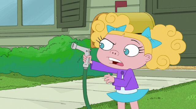 File:Suzy trying to spray Candace with the hose.jpg