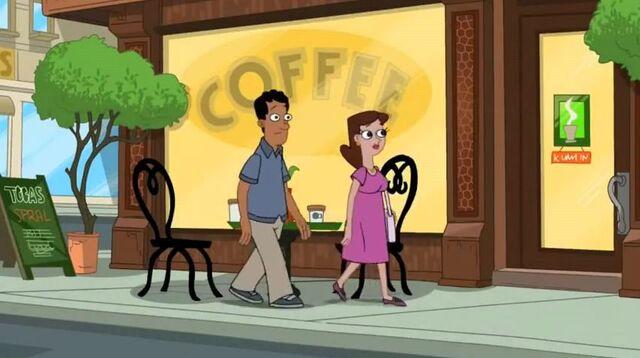 File:People at coffee shop hear Ferb's speech.JPG