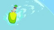 Ferb Jetskiing