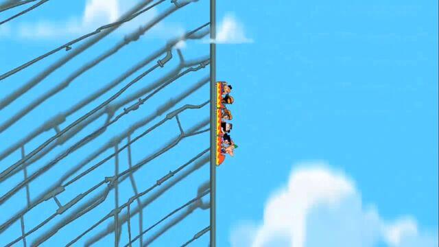 File:Side of rollercoaster during 3-mile drop.jpg