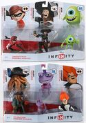 Disney Infinity Sidekicks and Villains packs
