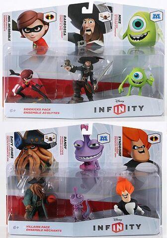 File:Disney Infinity Sidekicks and Villains packs.jpg