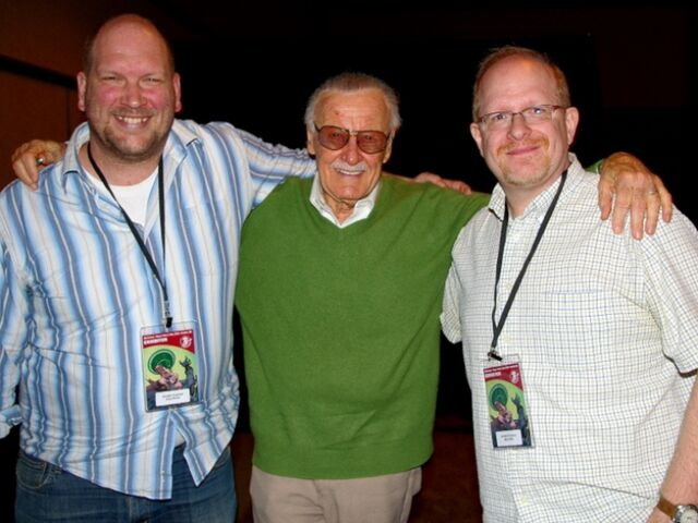 File:Stan Lee with Ross Richie & Mark Waid - Emerald City Comicon 2010.jpg