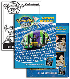 File:Phineas and Ferb Star Wars Activity Sheets.jpg
