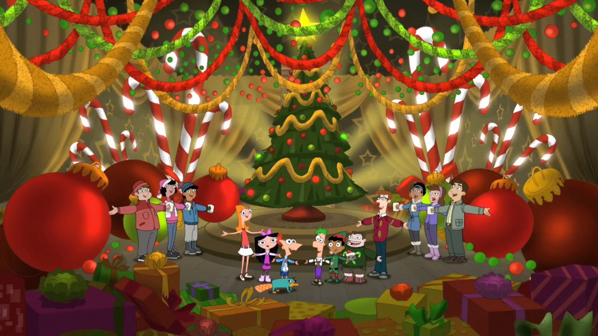 we wish you a merry christmas phineas and ferb wiki fandom powered by wikia