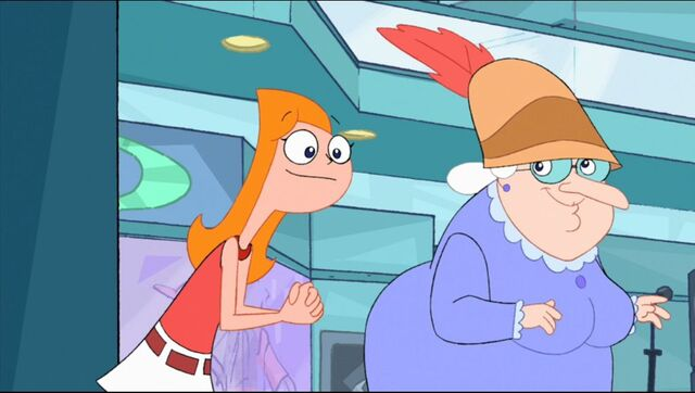 File:Candace shows Winifred around the mall.JPG