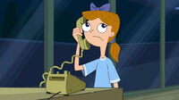 Sassy Miss K calling Bust'em