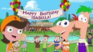 Birthday for Isabella revealed