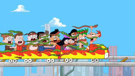 File:Phineas and Ferb on a rollercaoster.jpg
