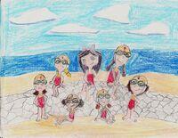 Fireside girls in swimsuits by ced75-d36crcn