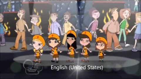 Phineas and Ferb - Carpe Diem Multilanguage (Version 2)