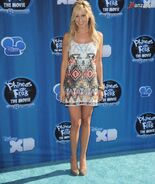 Ashley Tisdale na premierze filmu Phineas and Ferb Across The Second Dimension 13