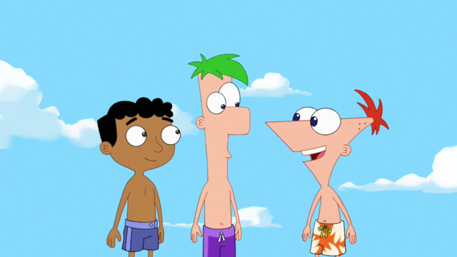 File:Bee Day-Phineas, Ferb and Baljeet.png