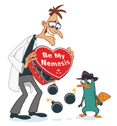 Perry and doof valentines
