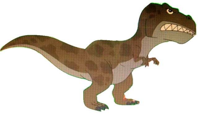 File:Tyrannosaurus Rex (PnF Version).png