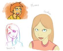 P+F Doodles, by Pentamerone