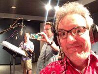 Swampy selfie with Dan and Jim